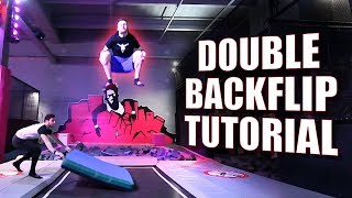 Double Backflip lernen - Trampolin Tutorial (deutsch)