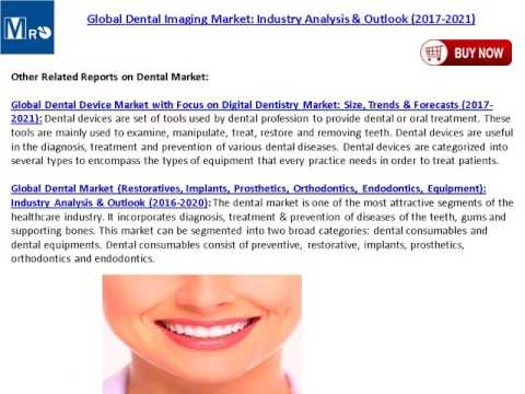 Dental Implants Market Analysis, Trends and Global Forecast by 2017 – 2021