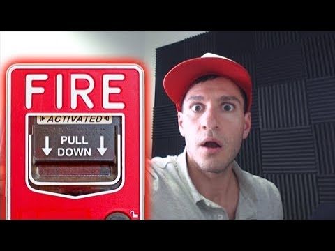 FIRE ALARM GOES OFF WHILE OPENING POKEMON CARDS! - Letters For Leonhart!