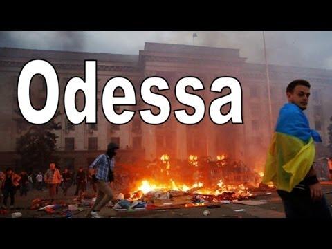 Der Brand in Odessa