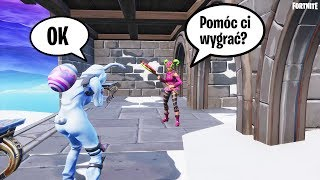 THE OPPONENT HELP ME TO GET INFINITE BLADE AND I WIN THE GAME! 😂🤣 Fortnite Battle Royale | Keendi
