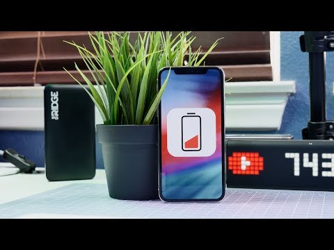 How To Improve iOS 12 Battery Life!