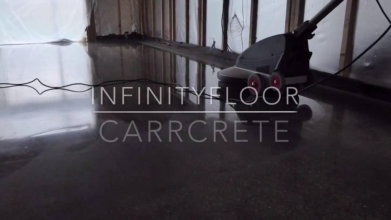 How To Polish Concrete Floors - CARRcrete InfinityFloor ...