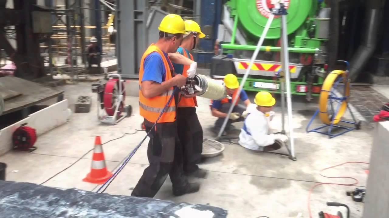 Bezwykopowa naprawa kanalizacji, pakery, rękawy