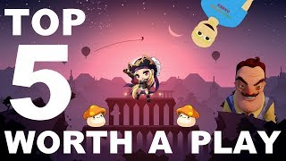 Top 5 Android Games Worth A Play (July 2018)