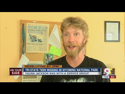 Cincinnati teen missing in Grand Teton National Park