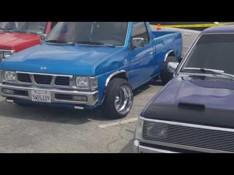 Car show at baldwin park
