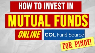 How to Invest Online in Philippine Mutual Funds with COL Fund Source
