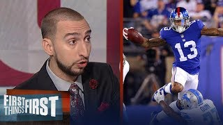 Bet against Vegas, Odell Beckham Jr. and the Giants will beat the Eagles | FIRST THINGS FIRST
