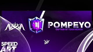 SPEED ART FAN HEADER PARA @Pompeyo4CR /// DISEÑO TOTALMENTE HECHO DESDE ANDROID!!!// SPEEDART [Gio]
