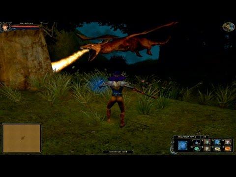 Dungeon lords Битва с драконом Совместное прохождение игры на двоих