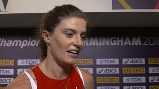 WIC 2018 Birmingham - Lea Sprunger SUI 400 Metres Women Heat 2