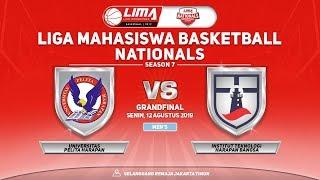 Grand Final Men's : UPH VS ITHB LIMA Basketball Season 7