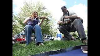 Uilleann pipes and fiddle in C