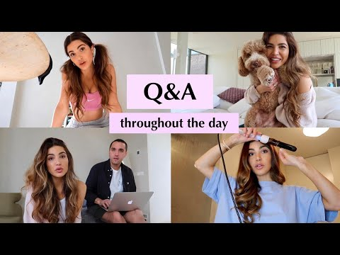 Q&A Throughout the Day