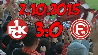 1. FC Kaiserslautern - Fortuna Düsseldorf - 2.10.2015 - Was will man mehr?
