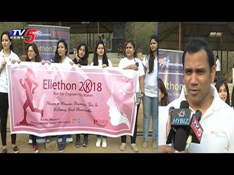 Software Engineers 5k Run For Women Empowerment In Gachibowli | Ellethon 2K18 | TV5 News