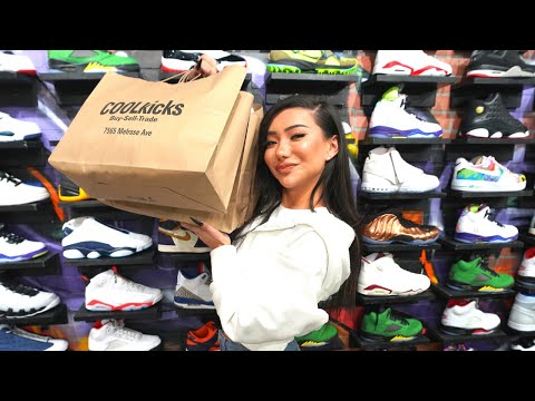 Nikita Dragun Goes Shopping For Sneakers With CoolKicks