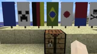 Como fazer:Bandeiras! Minecraft 1.8