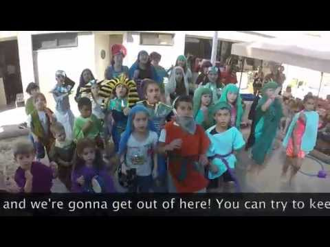 """God's Space"" Temple Beth Am and Pressman Academy 2015 Passover Parody"