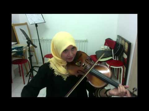 Digarhayu - Dato' Siti Nurhaliza & Faizal Tahir ( Violin cover by Endang Hyder )