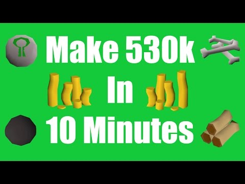 [OSRS] Make 530k in 10 Minutes - Daily Oldschool Runescape Money Making Method!
