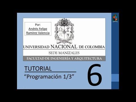 Tutorial 6 de MATLAB en español - Programación 1/3