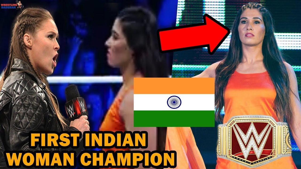 FIRST INDIAN WWE WOMAN CHAMPION?! | KAVITA DEVI vs RONDA ROUSEY?! |