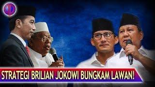 Brilian! Strategi Jokowi Bungkam L4wan di Menit-Menit Terakhir