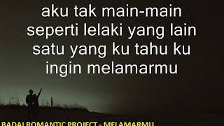 Download Mp3 BADAI ROMANTIC - Melamarmu