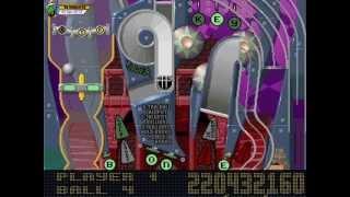 Pinball Fantasies (1994, MS-DOS) - 4 of 4: Stones 'n Bones [720p60]