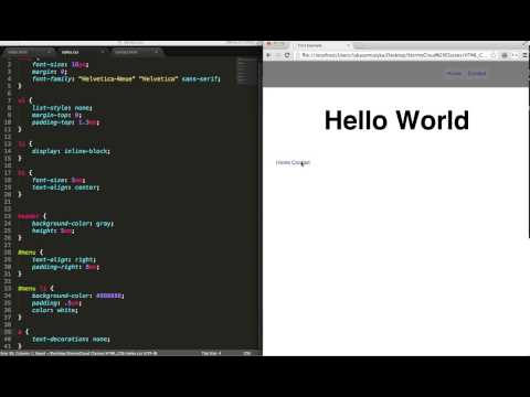 Introduction To HTML, Second Class Of The StormyCloud.net Training To Build Your Own Web Application