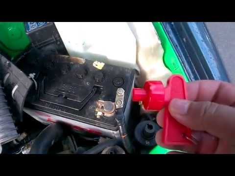 Connect And Disconnect Car Battery Every Day