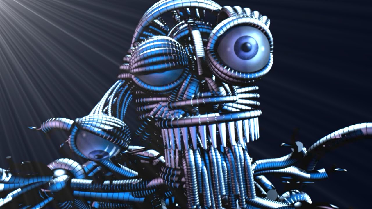 Five Nights At Freddy S Sister Location Endoskeleton