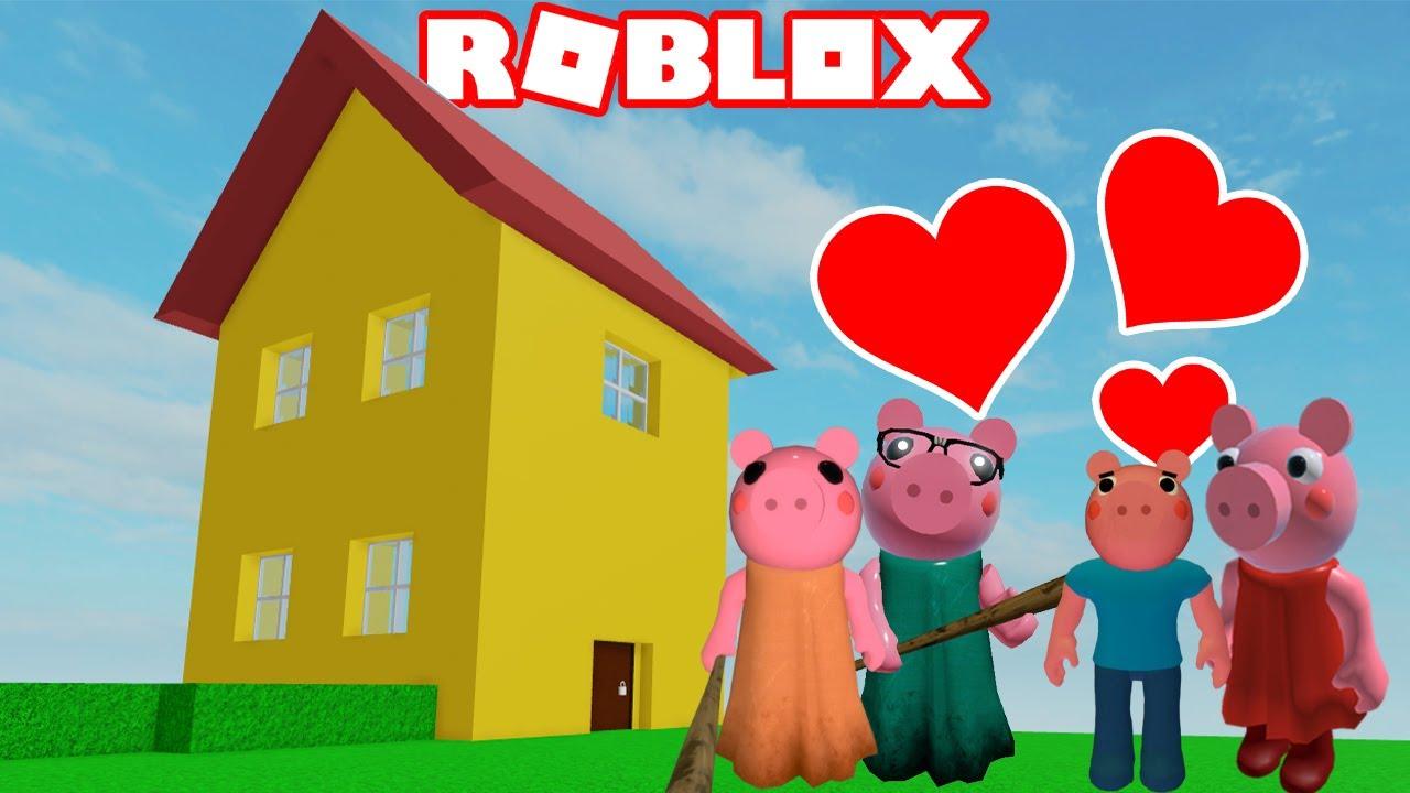 PIGGY - PEPPA PIG'S HOUSE (Roblox Piggy Custom Build!)