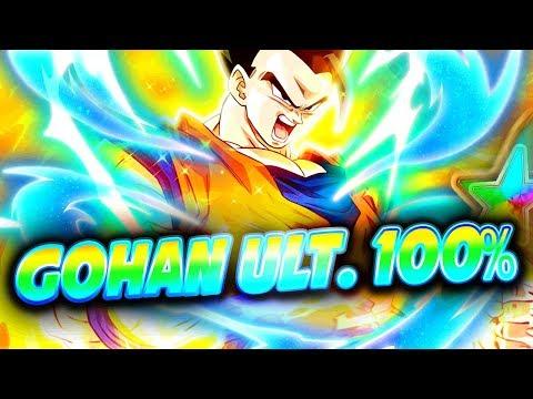 TEST GOHAN ULTIME PUI ARBRE 100% ( PUISSANCE ÉVEILLÉE !! ) - Dokkan Battle
