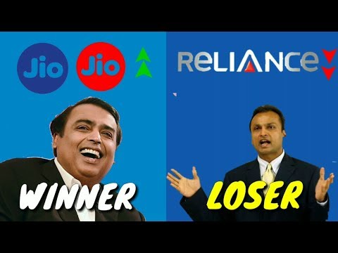 ® ✅ JIO Vs Reliance Telecommunication  | Why Jio Success & Reliance Failed | A Case Study