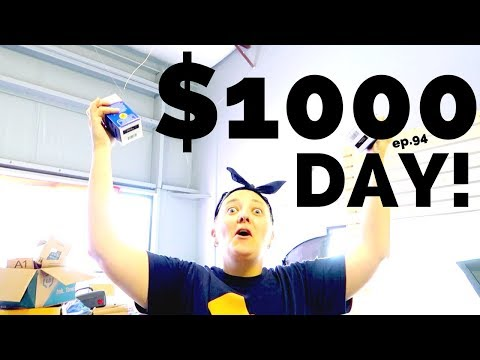 $1,000 a DAY on EBAY! - Reseller Vlog #94 - BUY. SELL. TRAVEL. - RALLI ROOTS