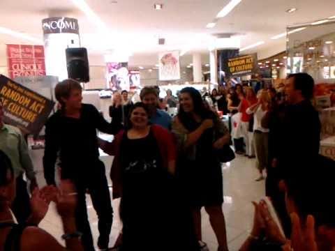 """Flash Mob! Carmen's Toreadors in Macys performing a """"Random Act of Culture"""" for FGO (flash mob)"""