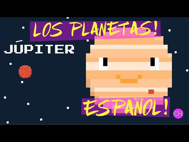 LOS PLANETAS | CANCIÓN INFANTIL | EN ESPAÑOL | ELEKTRO KIDS