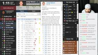 Fantasy Football Money League Draft ( Spot #10 in 10 Team League ) - Bum's Blitz