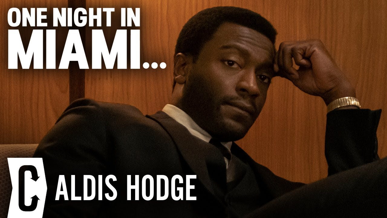 Aldis Hodge on One Night in Miami and Black Adam with Dwayne Johnson