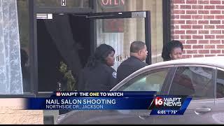 Woman Shot At Jackson Nail Salon