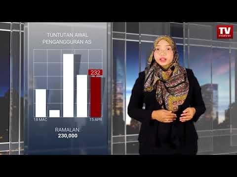 Pedagang berhati-hati walaupun keluaran data kuat dari AS  (20.04.2018)
