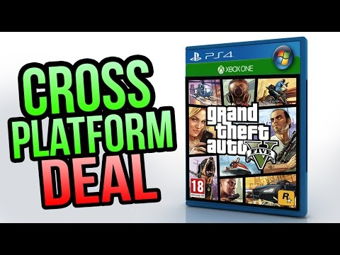 GTA 5 - Cross Platform Play Between Xbox One, PS4 & PC in Development! (GTA 5 Online)