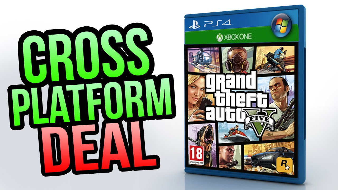 Gta 5 Cross Platform Play Between Xbox One Ps4 Pc In Development Gta 5 Online Youtube
