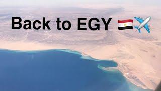 ورجعت لمصر | 🇪🇬 A Travel VLOG ✈️ | Back to EGY