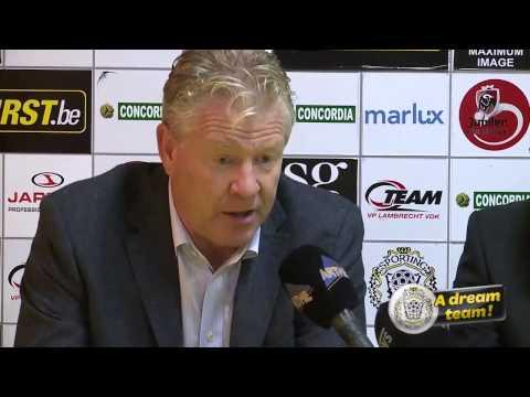 Peter Maes na Lokeren-Club Brugge