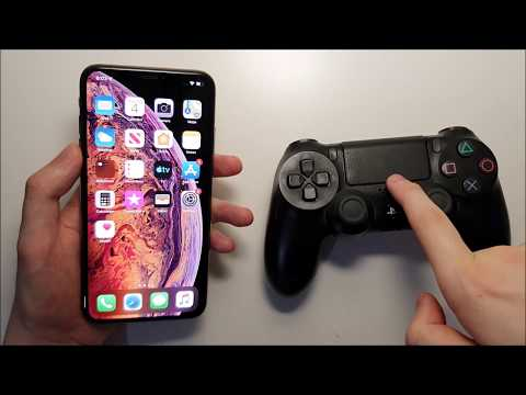 iOS 13 Connect PS4 Controller Tutorial iPhone XS Max