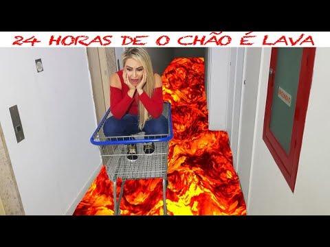 24 HORAS DE O CHÃO É LAVA - THE FLOOR IS LAVA